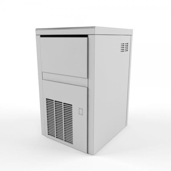 3d модель льдогенератора Brema cb-184w_grid