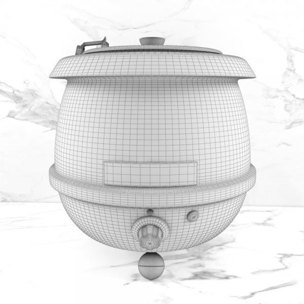 3d модель мармита GASTRORAG SB-6000_grid