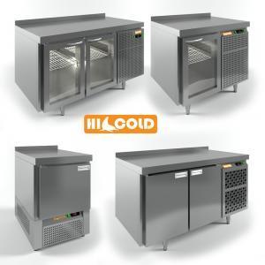 3d модель столов охлаждаемых HiCold