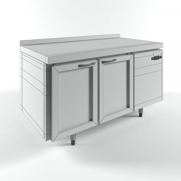 3d модель столов охлаждаемых HiCold GNG 11 HT_grid