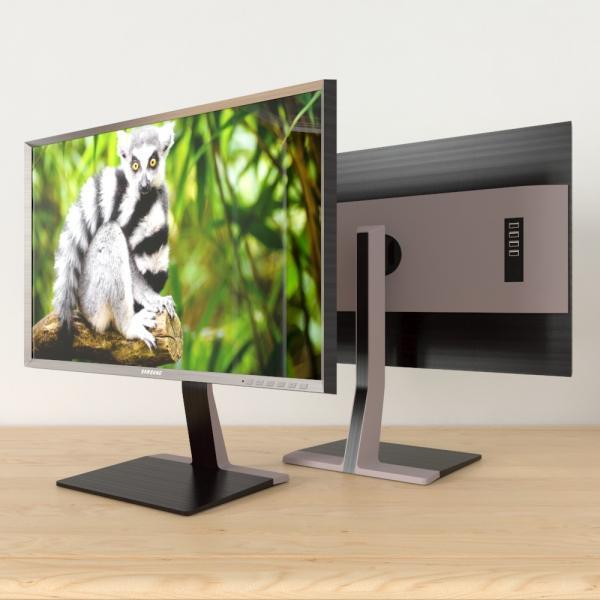 3d модель монитора Samsung S27D850T_1