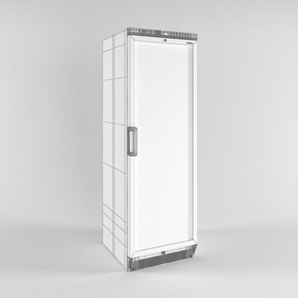 3d модель холодильного шкафа Tefcold ufsc370g_grid