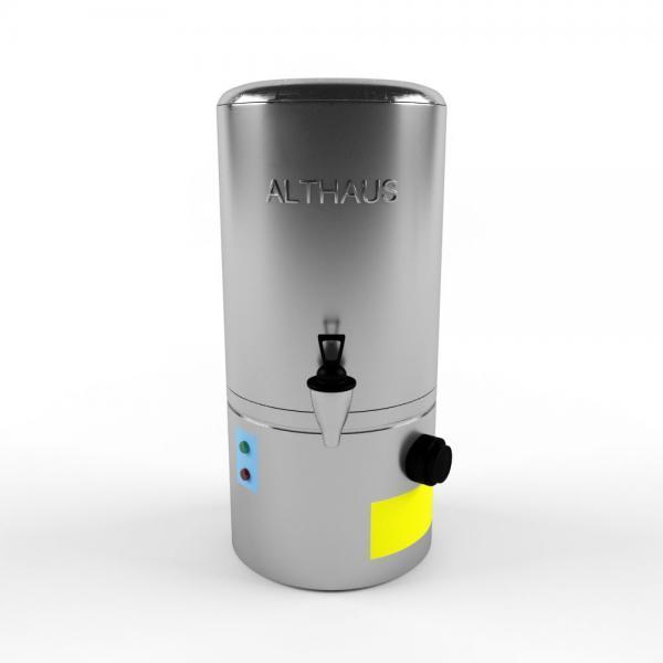 3d модель бойлера Manual Fill Boiler 10