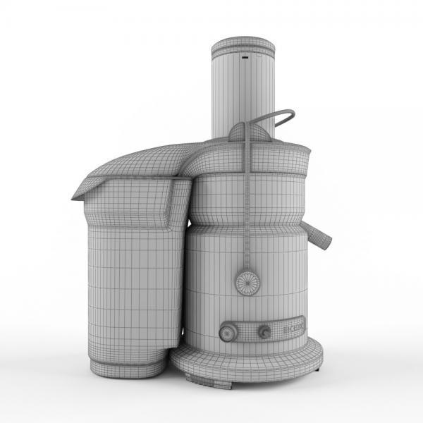 3d модель соковыжималки bork s800_grid