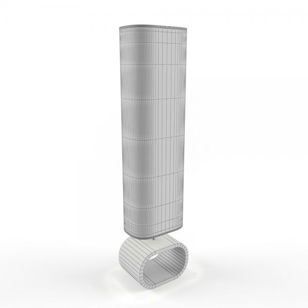 3d модель торшера Lussole Nulvi LSF_grid