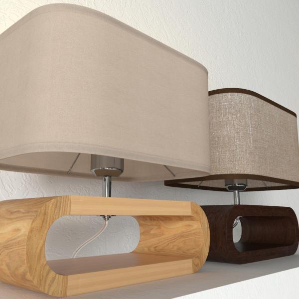 3d модель настольной лампы Lussole Nulvi LSF_1