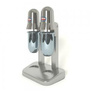 3d модель миксера для молочных коктейлей Sirman Sirio 2 Chrome_2