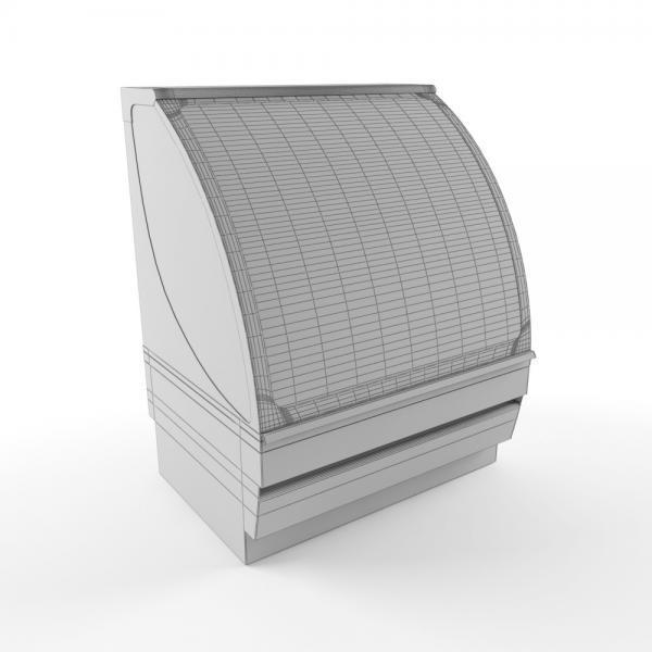 3d модель витрины Вена 1_grid