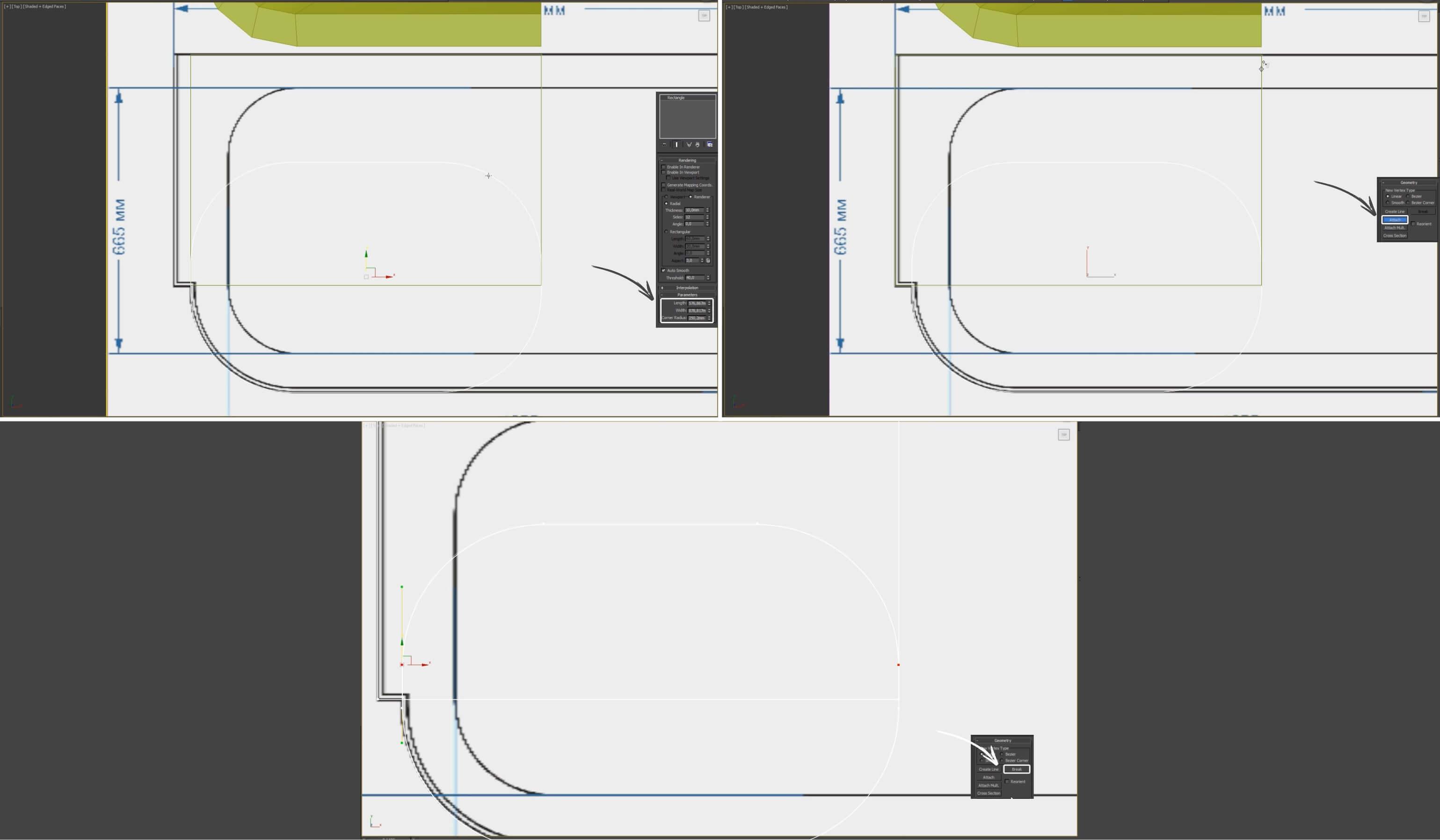 3d моделирование ванны Devon&Devon president в 3dsMax
