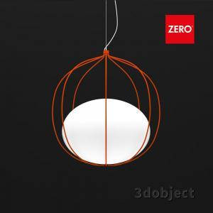 Zero Hoop lamp_orange_3dobj_