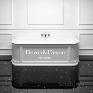 bath president devon&devon_grid_3dobject