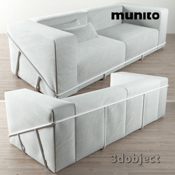 Frame Sofa for munito_3dobject