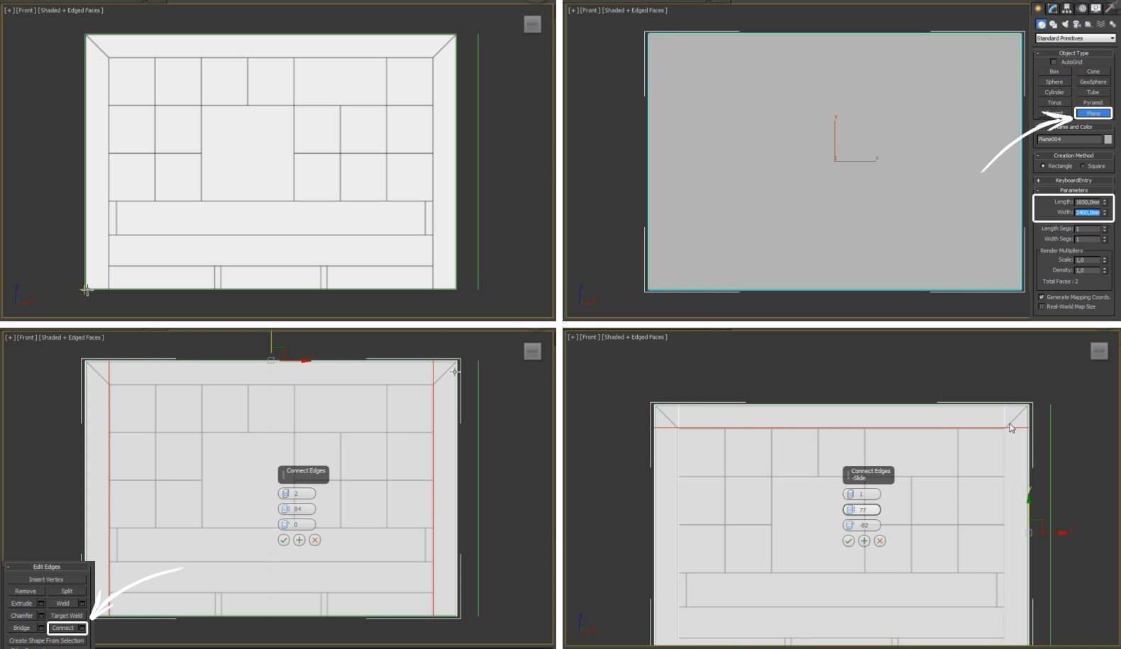 3d моделирование кровати Epoque Cambridge в 3ds Max и в Marvelous Designer