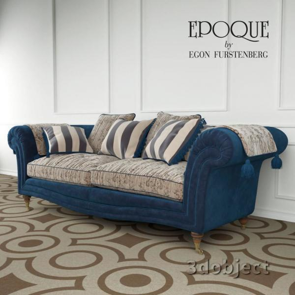 3d модель Epoque sofa Adenia