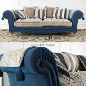 3d модель Epoque sofa Adenia