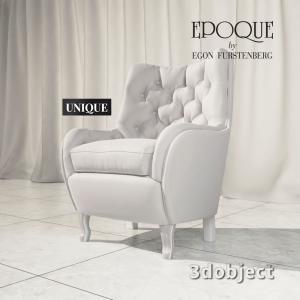 3d модель кресла Epoque by Egon Furstenberg Unique