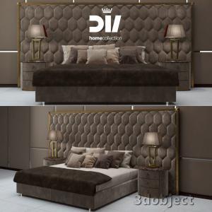 3d модель кровати DV home Envy Maxi