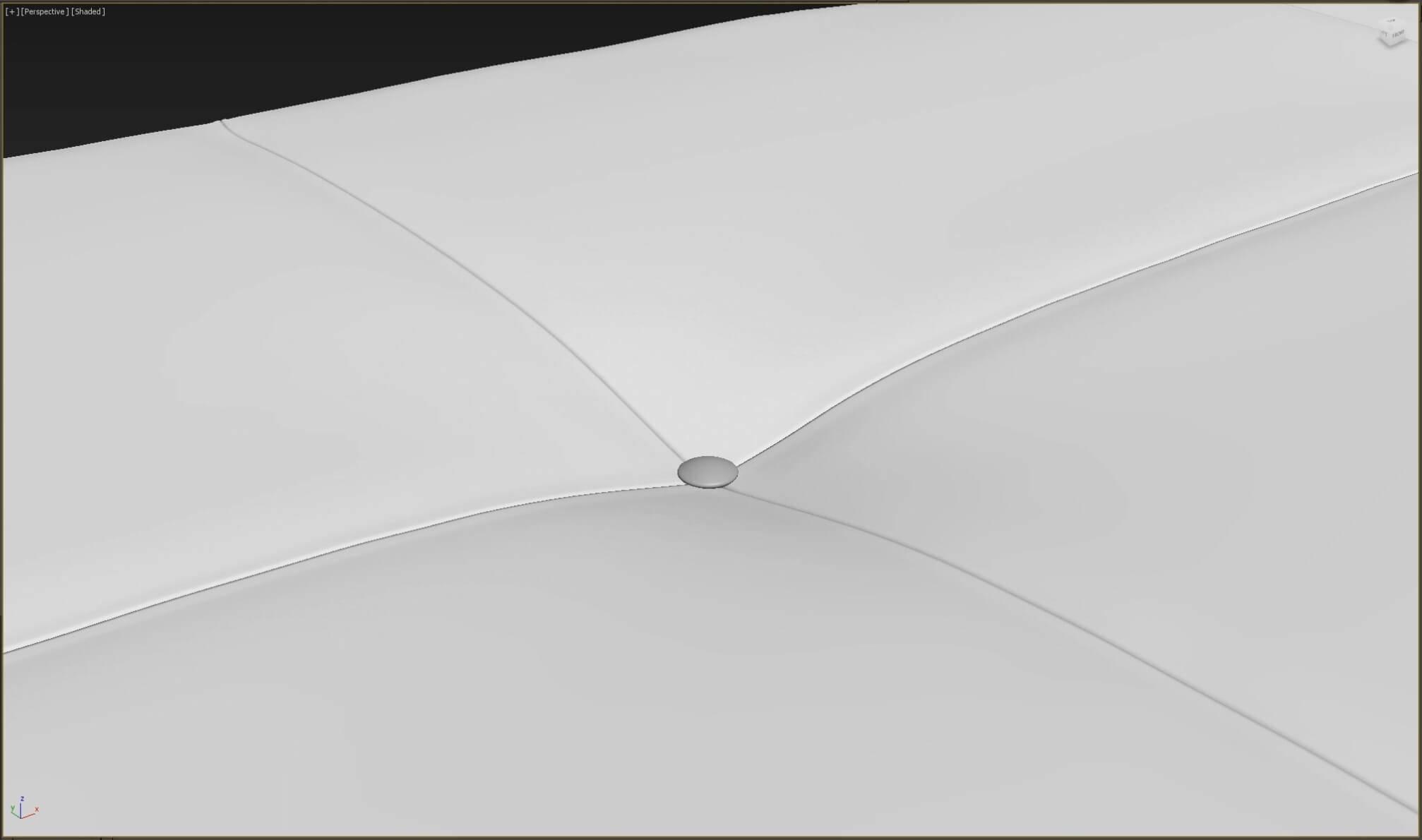 Как создать 3d модель прикроватной скамьи DV Home Quilt в 3dsMax, Marvelous Designer_8