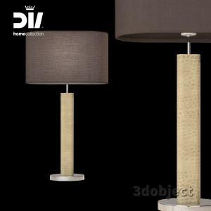 3d модель настольной лампы DV home Adler