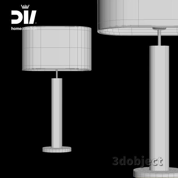 3d модель настольной лампы DV home Adler_grid