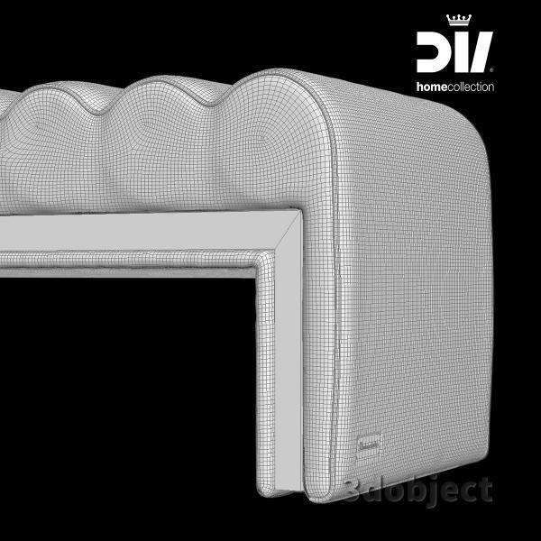 3d модель прикроватной скамьи DV home Envy_grid