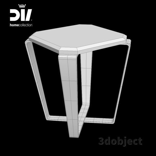3d модель кофейного столика DV home Ritz_grid
