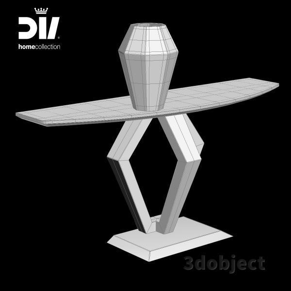 3d модель консоли DV home Ritz_grid