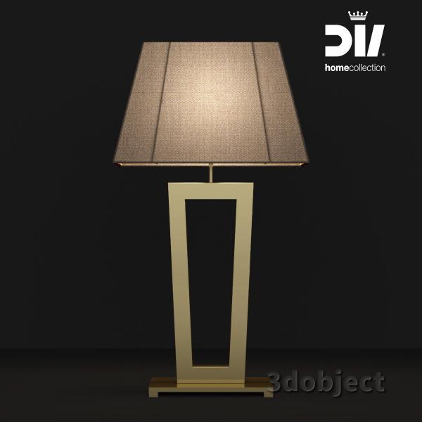 3d модель настольной лампы DV home Ritz