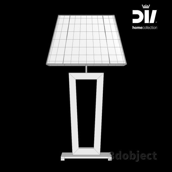 3d модель настольной лампы DV home Ritz_grid