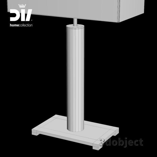 3d модель настольной лампы DV home Windsor_grid