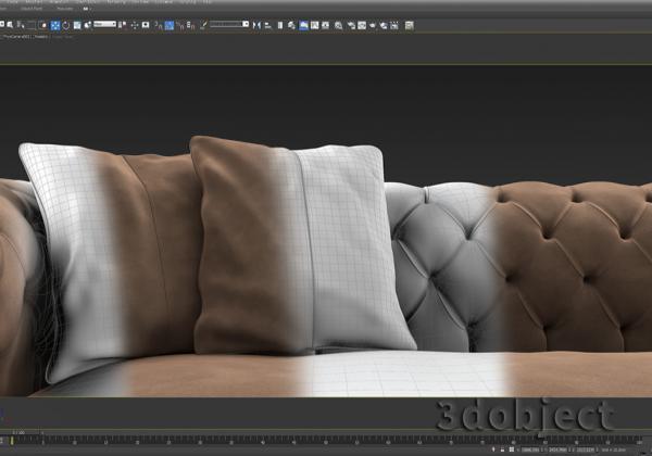 моделирование подушки в 3d max