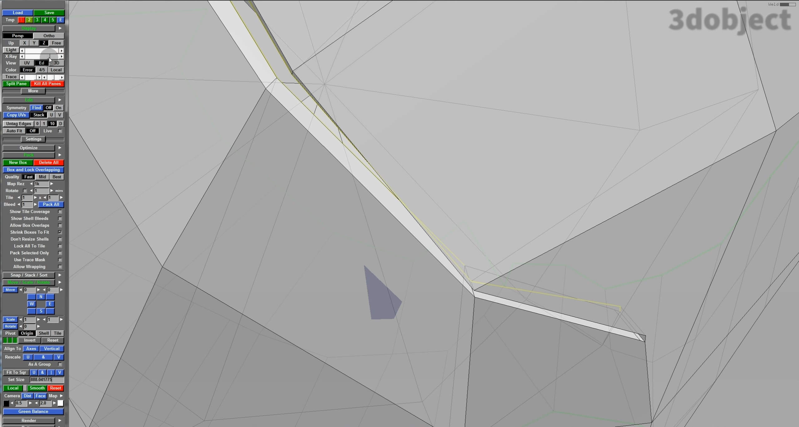 Развертка объекта в UV Layout_17