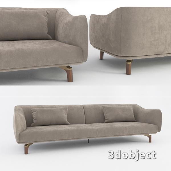 3d модель дивана Giorgetti Drive_2
