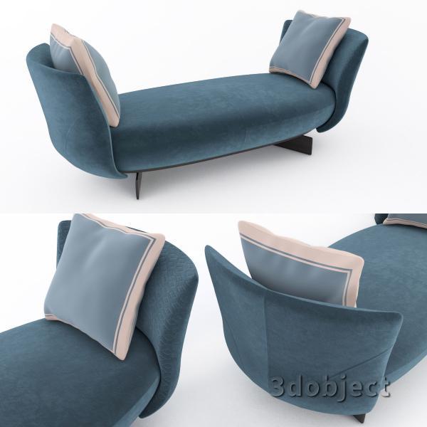 3d модель дивана Giorgetti Galet_2
