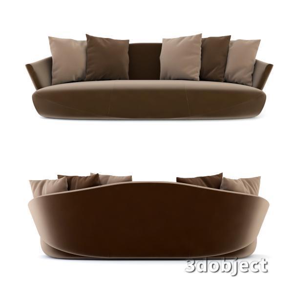 3d модель дивана Giorgetti Solemyidae_2