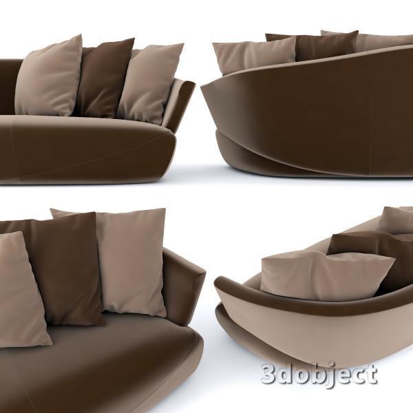 3d модель дивана Giorgetti Solemyidae_3