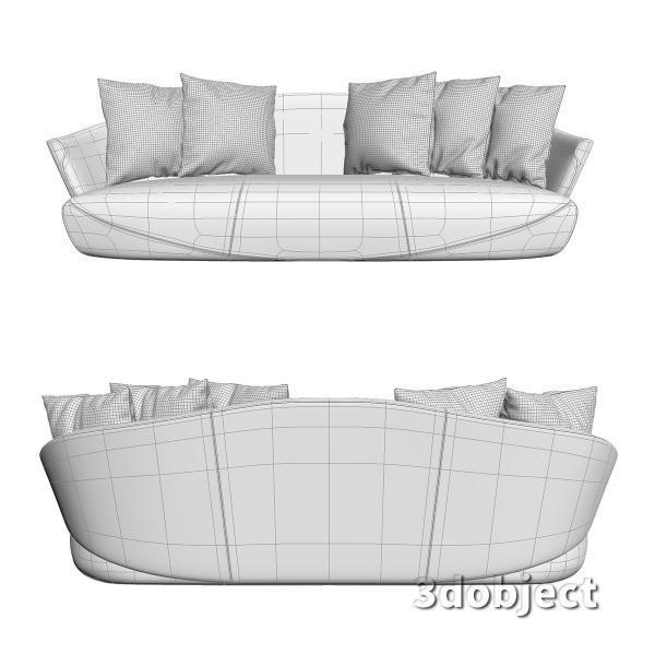 3d модель дивана Giorgetti Solemyidae_6