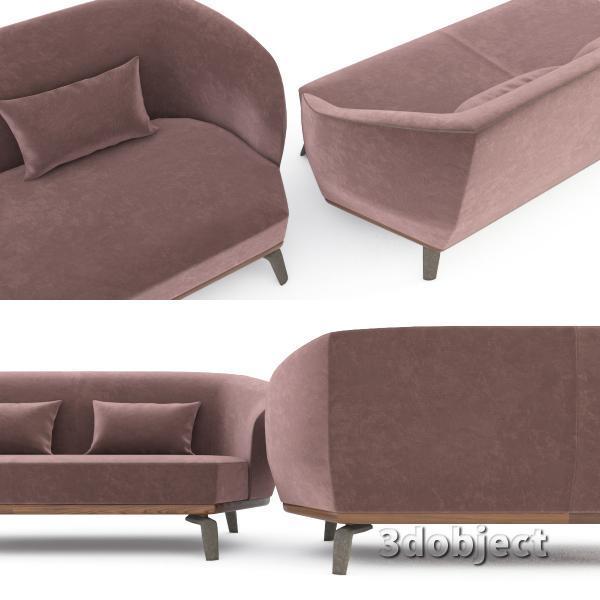 3d модель дивана Giorgetti Tamino_10