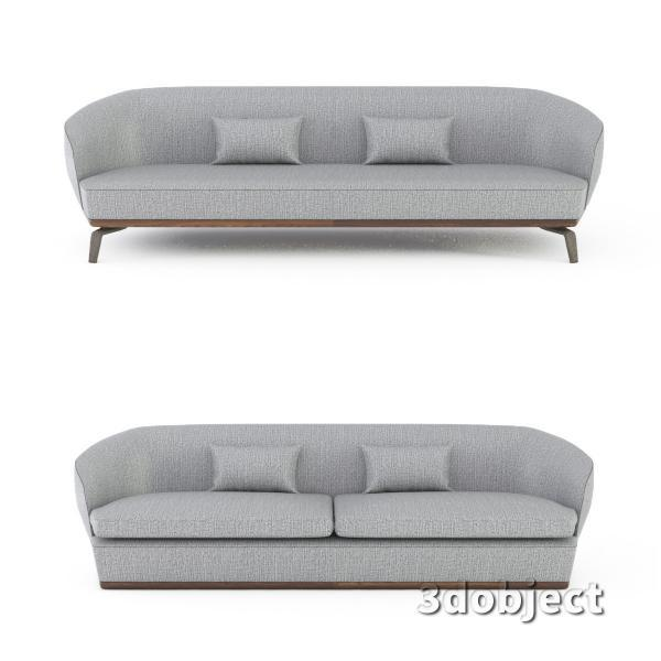 3d модель дивана Giorgetti Tamino_2