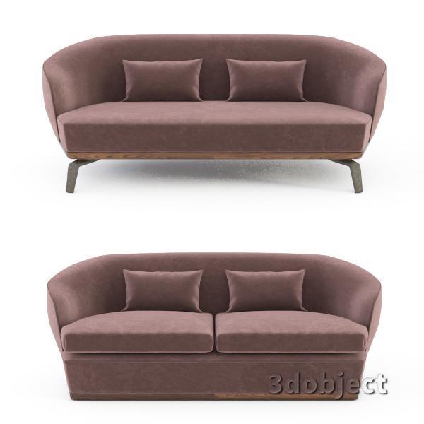 3d модель дивана Giorgetti Tamino_4