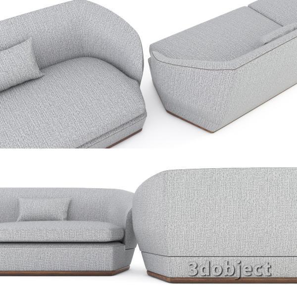 3d модель дивана Giorgetti Tamino_5