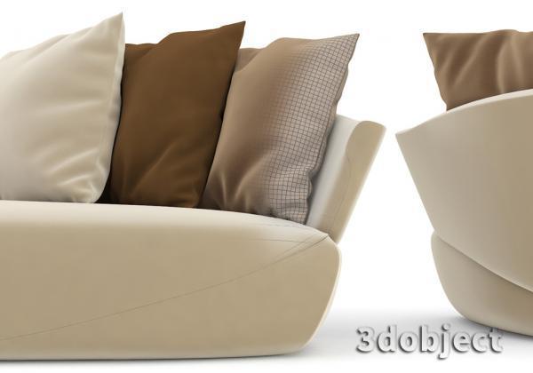 подушки в 3d в Marvelous Designer