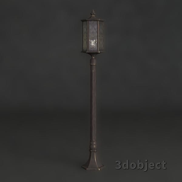 3d модель фонарного столба Maytoni_2