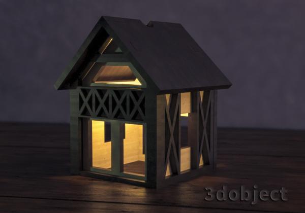 Моделирование дома в стиле Фахверк за 5 минут