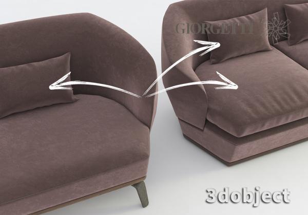 Моделирование подушки в 3d max и в Marvelous