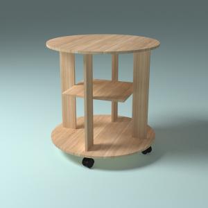 3d модель журнального столика_1