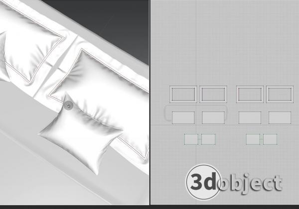 моделирование подушки в Marvelous Designer