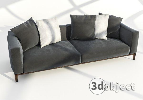 Моделирование в 3d max – урок моделирования дивана