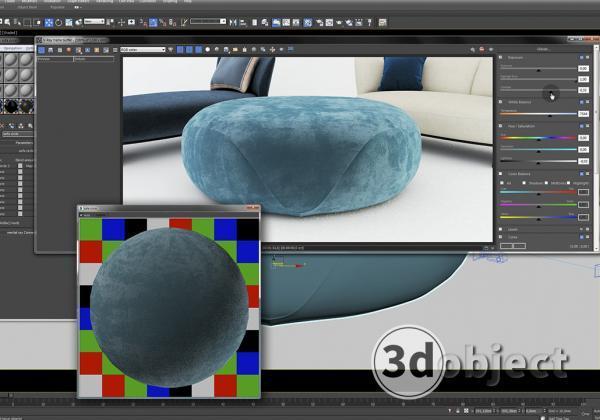 Создание vray материала. 3d визуализация. 3d max урок