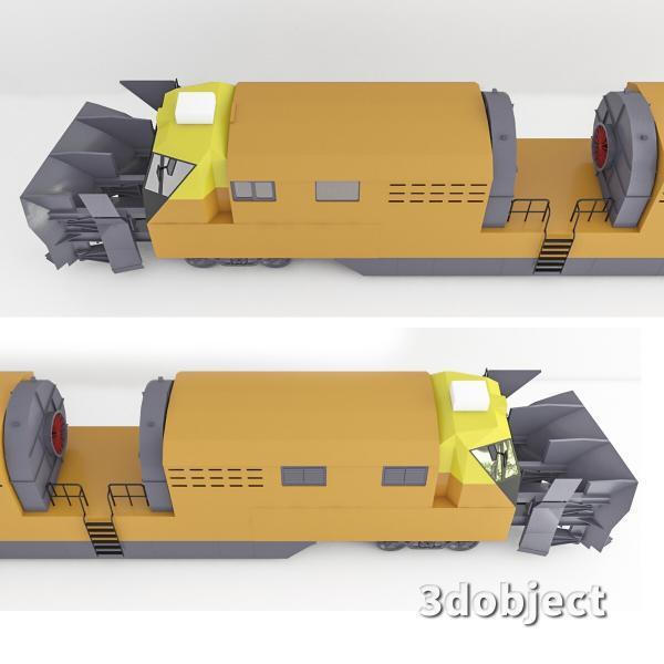 3d модель машины ПОМ и СДПМ_3
